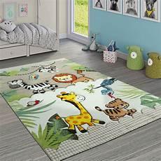kinder teppiche kinderteppich kinderzimmer dschungel tiere giraffe l 246 we