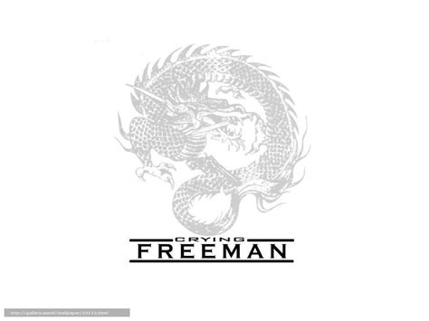Crying Freeman Wallpaper