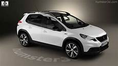 Peugeot 2008 Gt Line 2017 3d Model By Humster3d