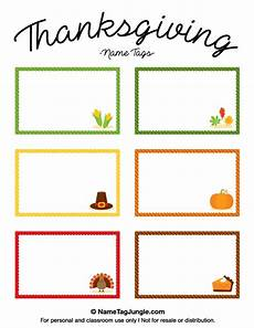 thanksgiving food label cards template printable thanksgiving name tags