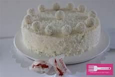 raffaello torte sandras kochblog
