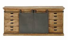 lade da tavolo etniche mangohouten dressoir breedte 190 cm germain maisons du