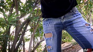 Peeing Her Jeans