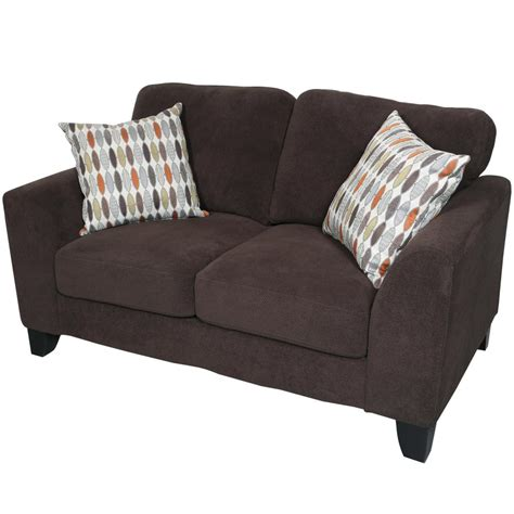 Microfiber And Loveseat by Home Decorators Collection Textured Chenille