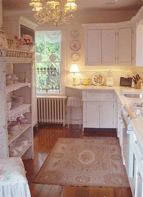 awesome shabby chic kitchen designs styletic