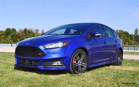 2016 Ford Focus St Kona Blue St1 Flyaround In 120 Pics