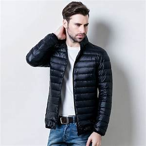 2017 Duck Down Jacket Men Fashion Men Winter Jacket Thin ...