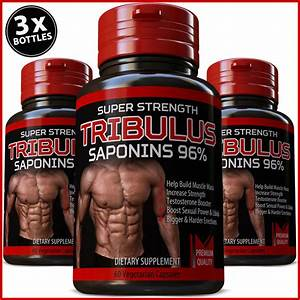 Tribulus Terrestris 7500mg Extract 96  Saponins Muscle Booster Testosterone 607841533478