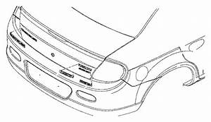Dodge Neon Nameplate  Decklid  Srt-4