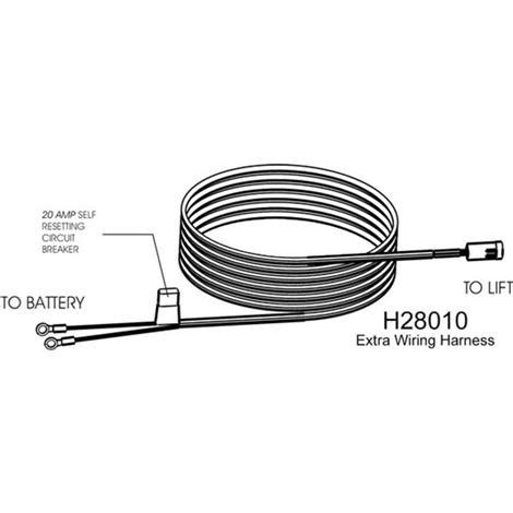 harmar vehicle wiring harness lifts  ramps accessories