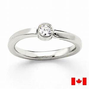 canadian diamond modern bezel engagement ring conflict With canadian wedding rings
