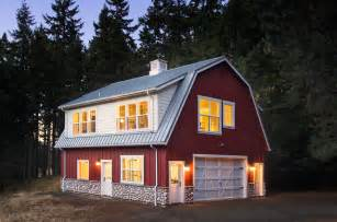 Decorative Barn Style Garage With Apartment Plans by Barn Studio And Loft Traditional Exterior Other