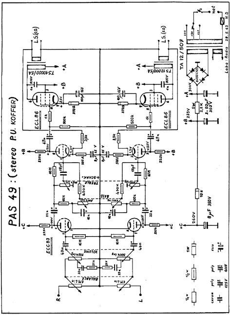 Carad Mas Stereo Transistor Amplifier Sch Service