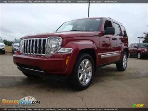 red jeep liberty 2012 2012 jeep liberty limited deep cherry red crystal pearl