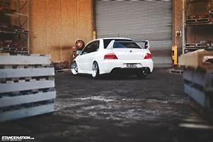 Mitsubishi Lancer EVO, Stance, StanceNation, Car