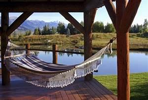 38 Lazy-Day Backyard Hammock Ideas