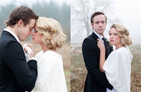 Fryzury ślubne Z Krótkich Włosów