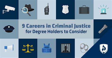 careers  criminal justice  degree holders