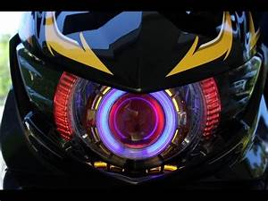 My Yamaha Mio Soul Gt With Double Angle Eyes Hid Xenon