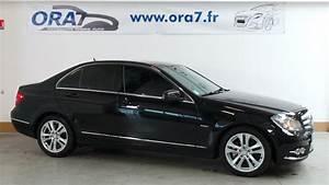 Mercedes Classe C Noir : mercedes classe c w204 180 cdi be avantgarde occasion lyon neuville sur sa ne rh ne ora7 ~ Dallasstarsshop.com Idées de Décoration