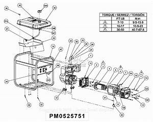 Powermate Formerly Coleman Pm0525751 Parts Diagram For