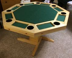 build  poker table diy projects pinterest