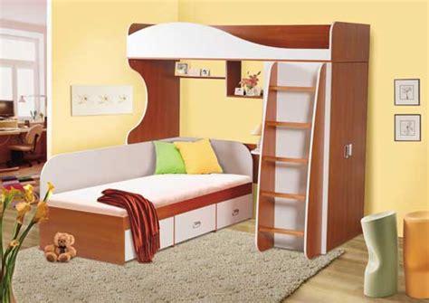 bunk beds with desk خشب بني وابيض للسراير دورين المرسال