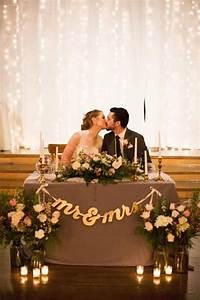 15 Romantic Wedding Sweetheart Table Decoration Ideas Oh