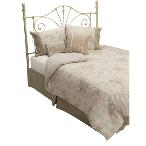 lawrence home fashions rosette comforter set twin 6