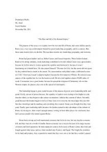 ancient rome essay