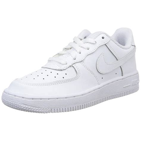 nike air 1 low preschool running shoes white 665 | 314193 117~left