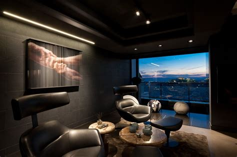 dramatic residence fit   bond skyfall apartment