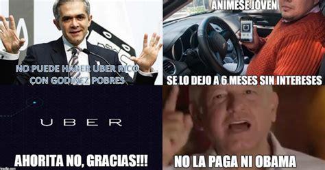 Uber Memes - mancera uber eliminar 225 tarifa din 225 mica y devolver 225 el dinero a afectados en la contingencia