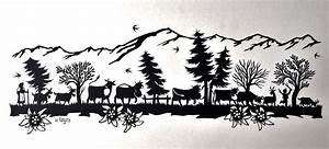 Bild Vergrssern Papercut Scherenschnitt Bild