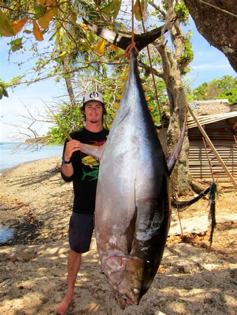tuna brandon wahlers record yellowfin bastard potential