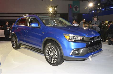 2016 Mitsubishi Outlander Sport Debuts With Dynamic New Look