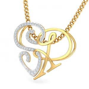 unique gold stud earrings sr initial heart pendant kuberbox