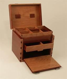 Custom Wood Fishing Tackle Boxes