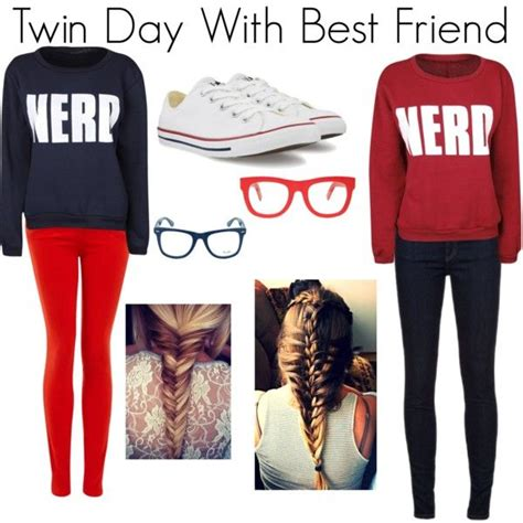 Twin Day With Best Friend | Twin Day Best Friends and Twin