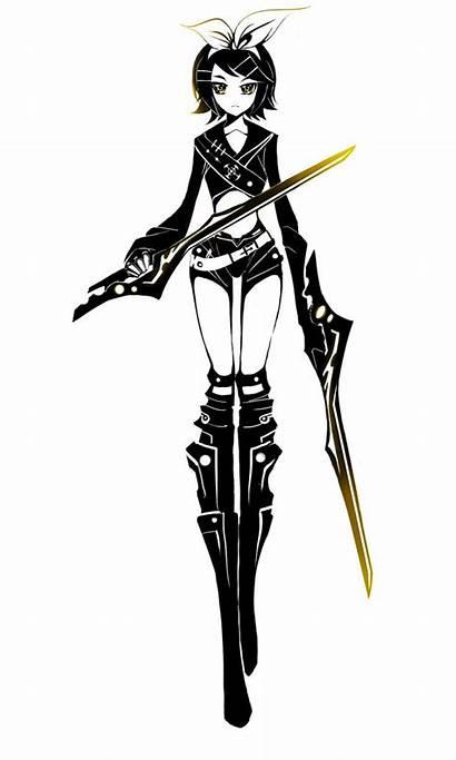 Anime Character Assassin Ninja Deviantart Characters Kagamine