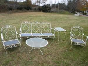 5 shape sturdy strong early 1970s mid century metal outdoo