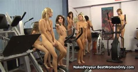 Amazing Body Polish Naked Teens In The Gym Voyeur Mylust