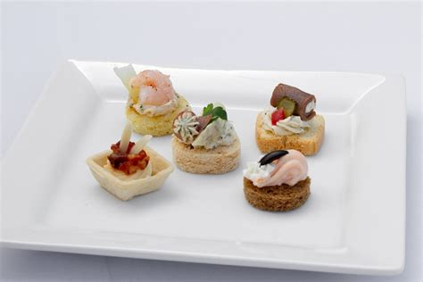 canape appetizer cold canapes assortments capanes assortments by