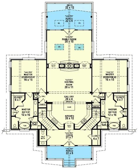 floor plans with 2 master bedrooms 44 best images about dual master suites house plans on