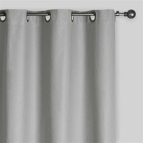 slate gray curtains slate gray grommet top curtain world