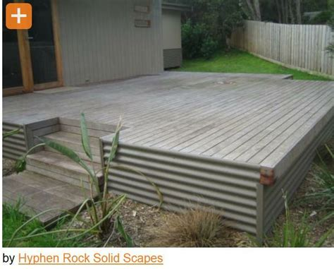 Metal Deck Skirting Ideas by 10 Images About Deck Underpinning Skirting On