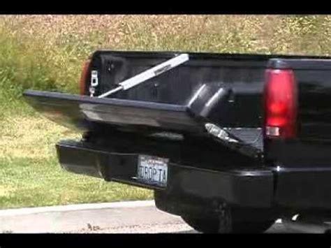 jsc droptail power tailgate assist  pickup truck