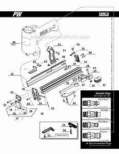 Senco Pw Parts List And Diagram   Ereplacementparts Com