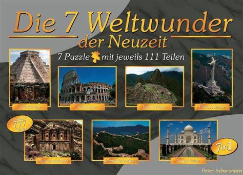 Modernen Weltwunder by Puzzle