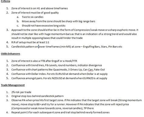 mystzs trading blog  trading plan
